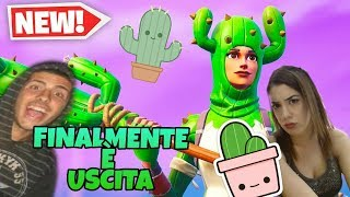 [Fortnite Live ITA Season8] - IN LIVE WITH SARA - FINALLY - THE SKIN OF CACTUS -