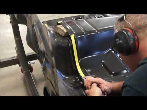 1968 camaro floor work