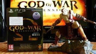 Unboxing (CZ) God of War: Ascension Collectors Edition (PS3) 1080p
