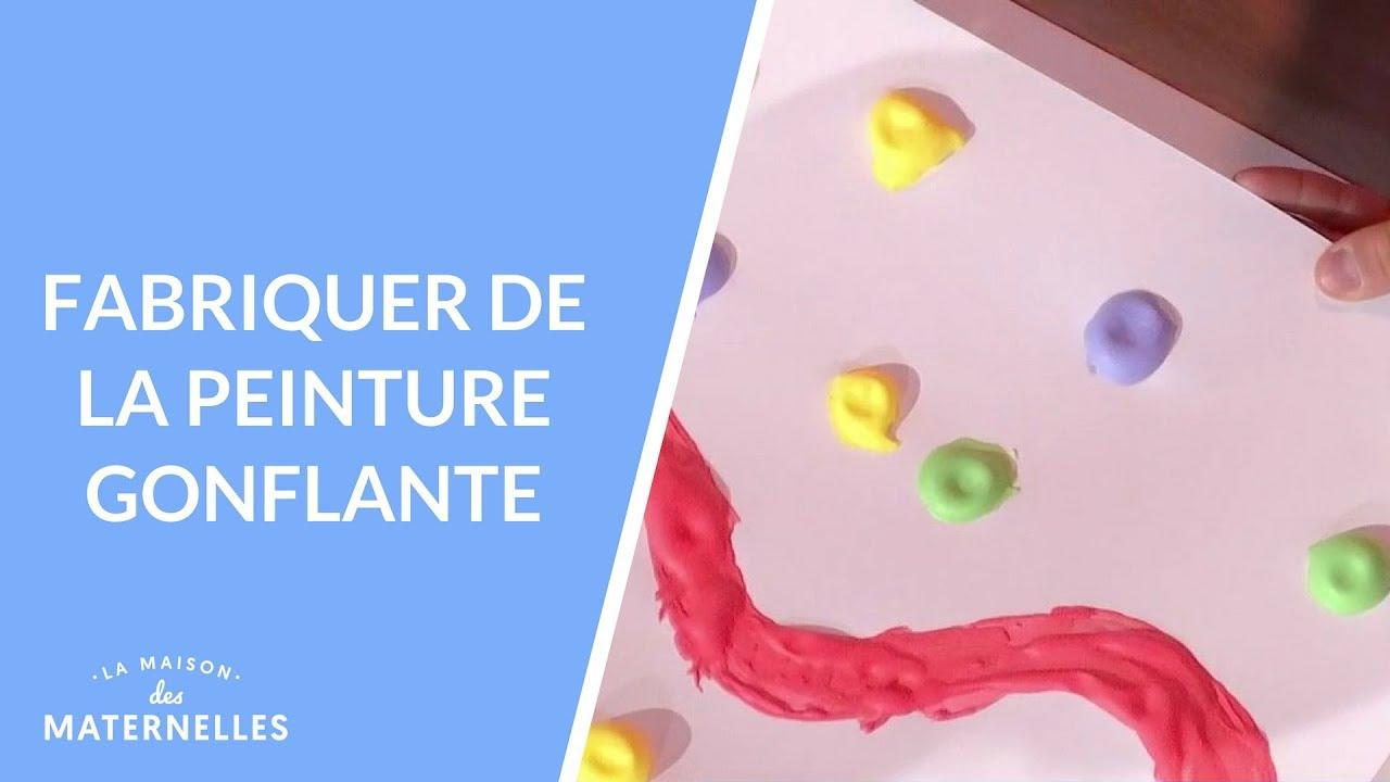 Diy Fabriquer De La Peinture Gonflante La Maison Des Maternelles Lmdm Youtube