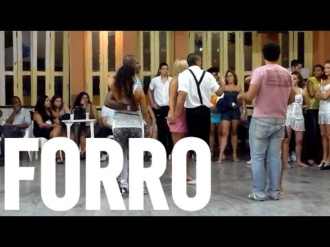 Beautiful Brazilians Dancing Forro