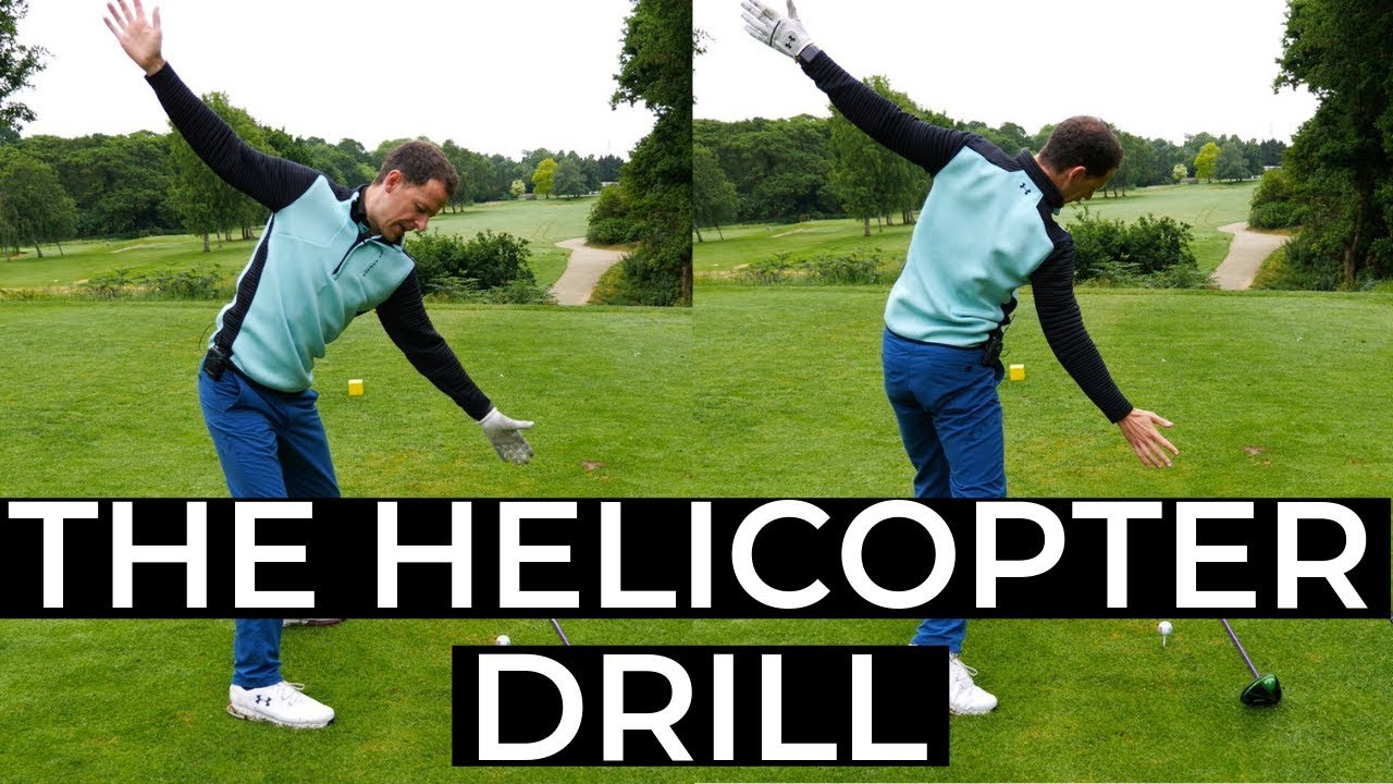 GOLF SWING MADE SIMPLE - THE HELICOPTER DRILL