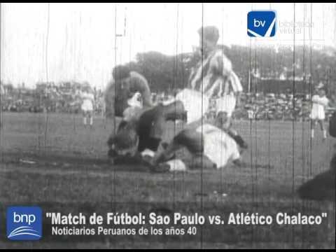 Match de Fútbol Sao Paulo vs  Atlético Chalaco