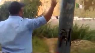 مشدات في الحدود بين المغرب و ألخرئر