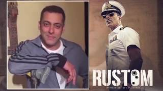 Salman Khan kicks off the Rustom countdown