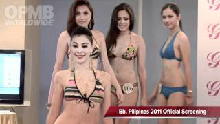 Repeat youtube video Bb. Pilipinas 2011 Swimsuit (Official Screening)
