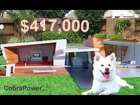 10 Most Expensive Luxury Dog Houses