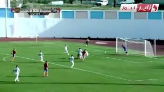 هدف الهداف المتألق لأولمبي المدية أمين حامية في مرمى مولودية سعيدة