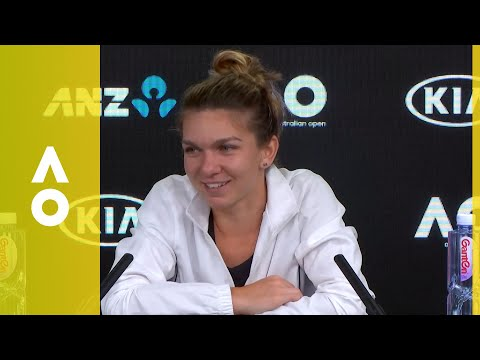 Simona Halep press conference (WF) | Australian Open 2018