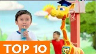 TOP 10 QUẢNG CÁO SỮA HAY NHẤT MỌI THỜI ĐẠI [HD]