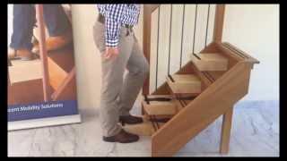Traplooptechnieken, veilig alternatief voor een traplift: Easysteppers
