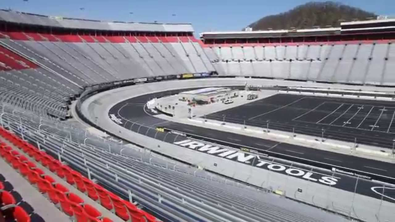 2014 Bristol Motor Speedway Tennessee Empty Stadium Youtube