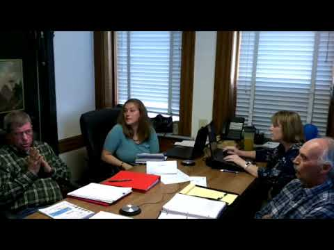 11 06 2017 Lincoln County Commission Meeting