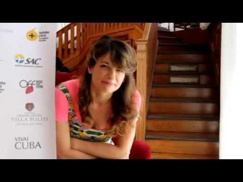 Intervista ad Anita Kravos presso OFF Press & Guest Center Grand Hotel Villa Politi