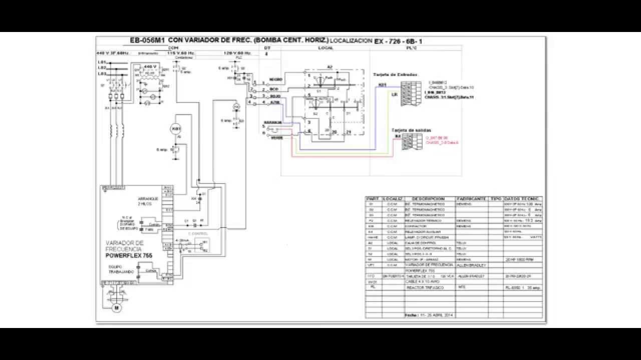 Circuito Variador De Frecuencia : Diagrama electrico de variador frecuencia powerflex