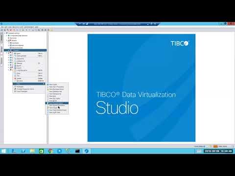 TIBCO Data Virtualisation Demonstration