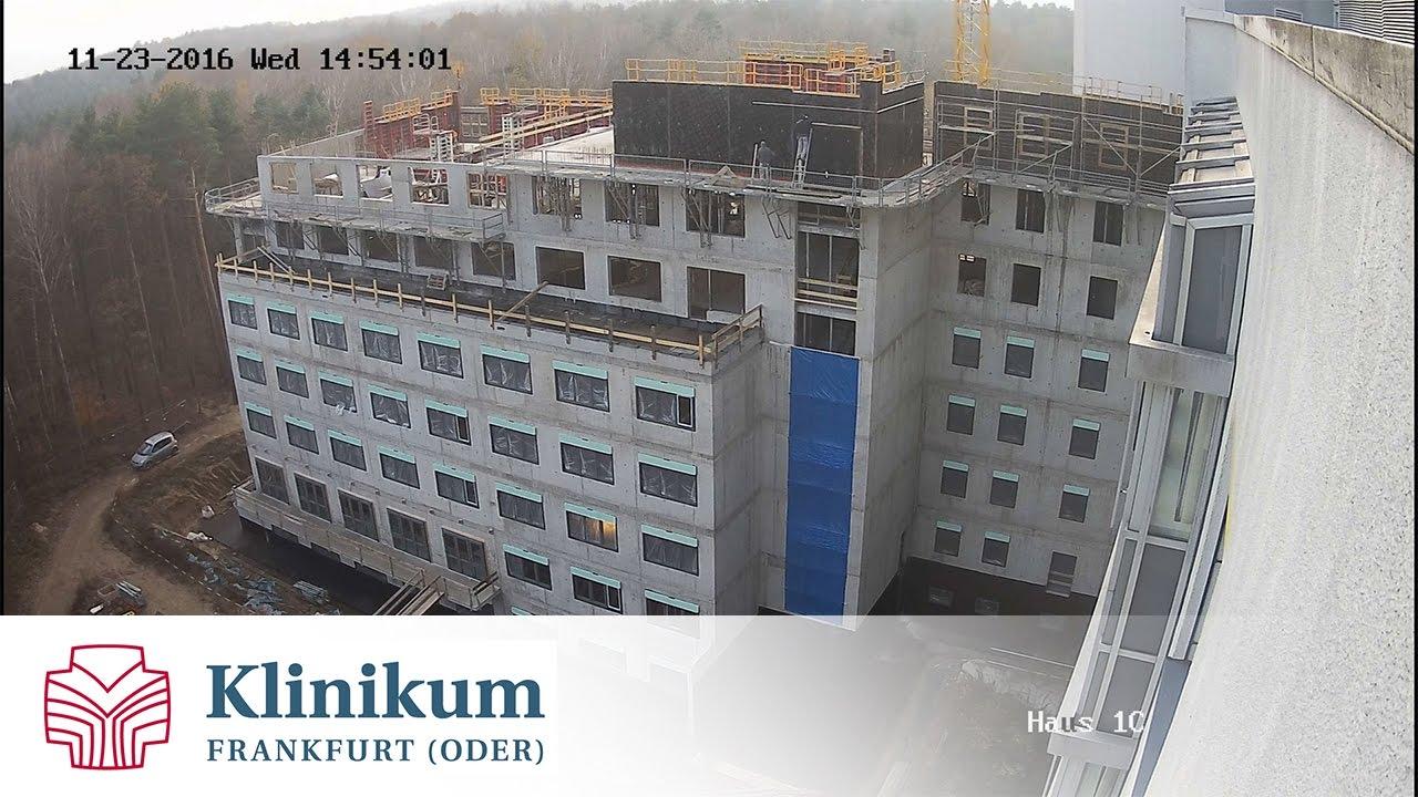 Neubau Haus 1C November 2016 Klinikum Frankfurt Oder