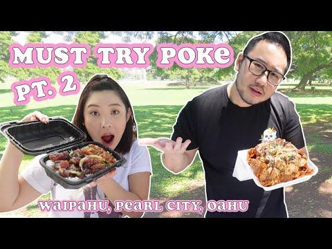 MUST TRY POKE SPOTS! Pt.2    [Central Oahu, HAWAII] Poke Bowl, Poke Nachos, Okazuya