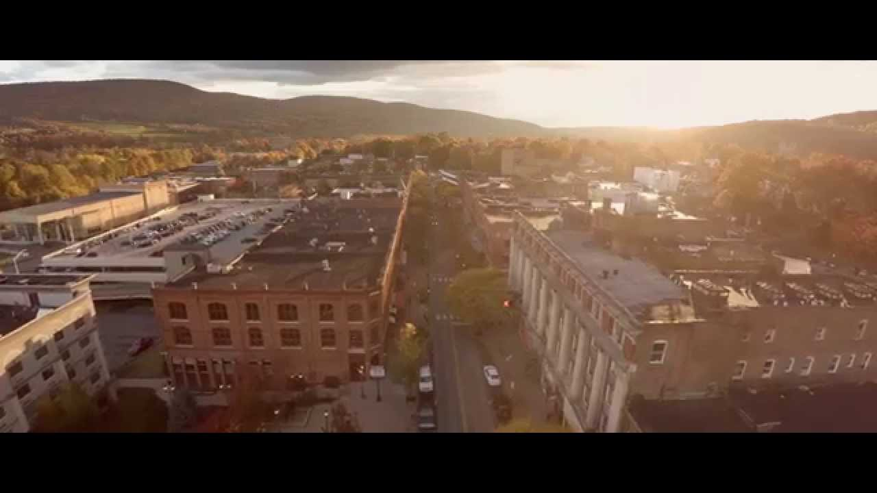 City of the Hills, Oneonta, NY in 4K!