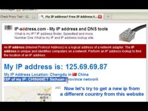 How to change your IP address in less than 30 seconds! ... | Doovi