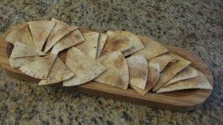 Cinnamon-Sugar Tortilla Chips - Lynns Recipes