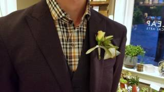 Daily BE | Epiṡode 89: How to pin a boutonniere