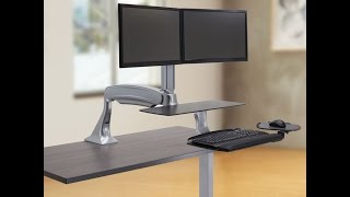 How to use a Stand Up Desk for Home Office: Office Setup