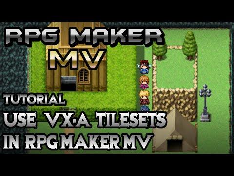 RPG Maker MV Tutorial: Use VX Tilesets in MV! - YouTube
