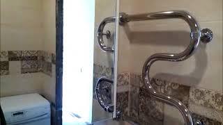 ремонт в ЧИТЕ  туалета и ванной комнаты под ключ в панельном доме на школе 17