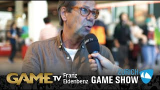 Game TV Schweiz - Interview mit Franz Eidenbenz | Psycholog Radix | Zürich Game Show