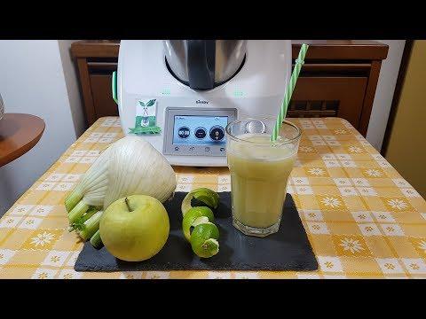 frullato nopale di ananas e sedano per dimagrirem