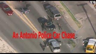 San Antonio Police Car Chase