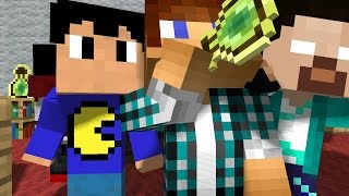 Animação AUTHENTICGAMES ANIMATION MINECRAFT: CLONES DO AUTHENTIC - (SkyWars )