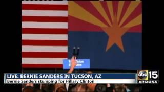 LIVE: Bernie Sanders in Tucson, AZ