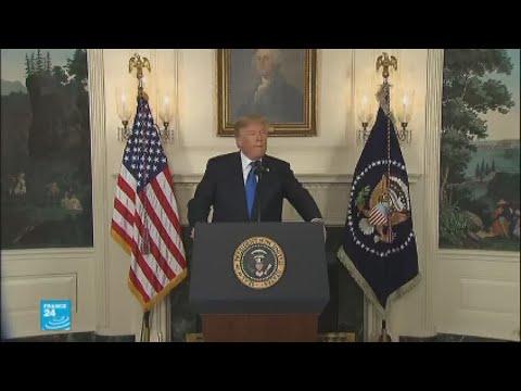 ترامب لا يستبعد خروج بلاده من الاتفاق النووي وسط مخاوف أوروبية  - نشر قبل 2 ساعة