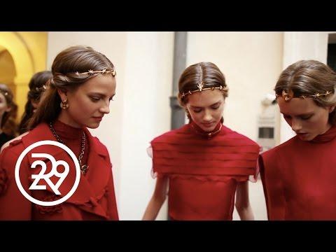 Valentino Haute Couture Show Inspiration | Fashion Films | Refinery29