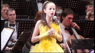 'Аве Мария' Весь зал плакал. Вика 11 лет