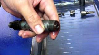 Scania Injector Disassembly