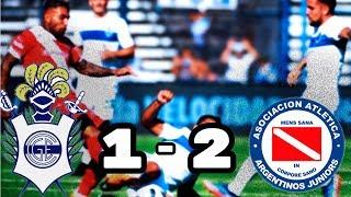 Gimnasia vs Argentinos Juniors (1-2) Cuartos de Finales Copa Argentina