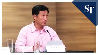 Education Minister Ong Ye Kung on number of students and staff who have travelled to China