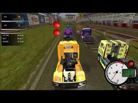 Обзор гонок на грузовиках в игре World Truck Racing (2014)