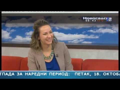 Gostovanje u Novosadskom jutru Novosadska TV 18 okt 2019
