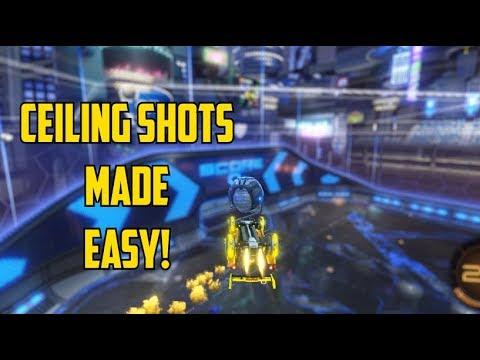 Ceiling Shot Like a GOD! | Rocket League Tips and Tricks