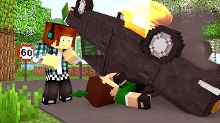 Minecraft: The Sims Craft Ep.168 -  O Acidente do Caue !?!?