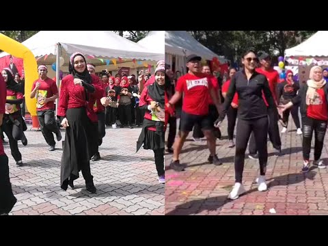 Pertandingan Zumba Datuk Siti Nurhaliza Vs Fasha Sandha