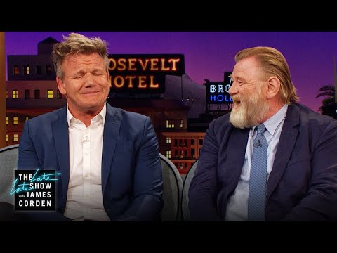 Brendan Gleeson & Gordon Ramsay Are Embarrassing Dads