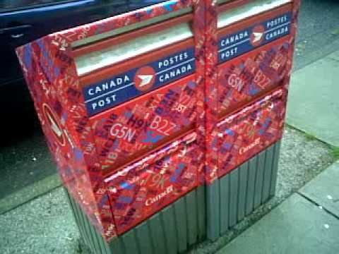 Canada Post Colorful Mailbox Marketing