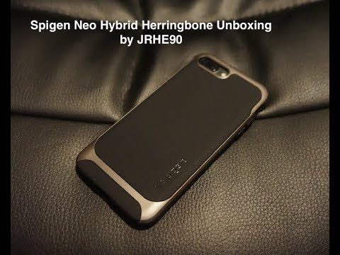 super popular d5d8f e58ba Spigen Neo Hybrid Herringbone for iPhone 7/8 Plus Unboxing