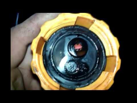 Ремонт Впускного клапана расширительного бочка Daewoo