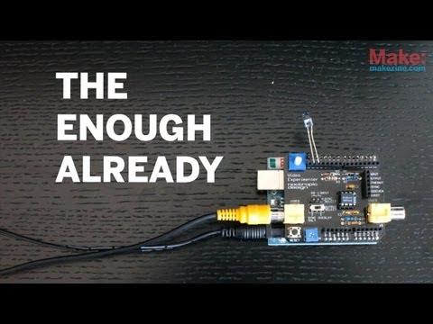 Enough Already: Silencing Celebs With Arduino